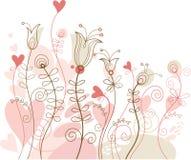 blom- ferie för bakgrund Arkivbild