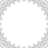 Blom- fin ram Arkivfoto
