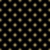 Blom- fin sömlös vektormodell Royaltyfri Fotografi