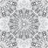 Blom- fyrkantig modell Kinesisk dekorativ abstrakt bakgrund royaltyfri illustrationer