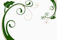 blom- garnering 05 royaltyfri illustrationer