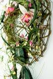 blom- garnering Fotografering för Bildbyråer