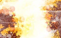 blom- grunge Fotografering för Bildbyråer