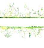 blom- grunge för bakgrund Arkivbilder
