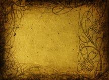 blom- grunge för bakgrund Royaltyfria Bilder