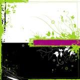 blom- grunge för bakgrund Fotografering för Bildbyråer