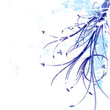 blom- grunge för bakgrund Arkivfoton