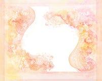 blom- grungeprydnadar för bakgrund Royaltyfri Foto