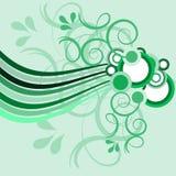 blom- grungy seamless för bakgrund Stock Illustrationer