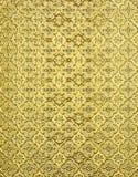 blom- guld- för bakgrund Fotografering för Bildbyråer