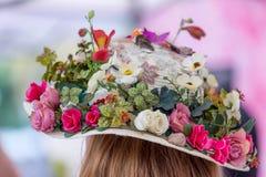 Blom- hatt Arkivfoto