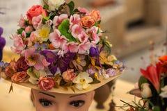 Blom- hatt Arkivfoton