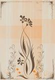 blom- illustration Arkivfoton