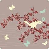 blom- illustration för bakgrund Arkivbild