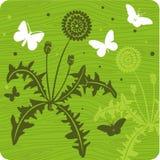 blom- illustration för bakgrund Arkivfoto