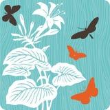 blom- illustration för bakgrund Arkivfoton