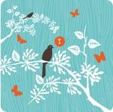 blom- illustration för bakgrund Royaltyfri Fotografi