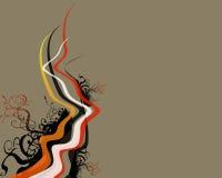 blom- illustration för design Royaltyfria Bilder