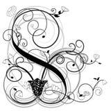 blom- illustrationvektor Royaltyfria Bilder