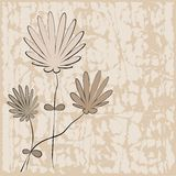 blom- illustrationvektor för bakgrund Arkivfoton