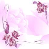blom- inbjudanlivstid för händelser stock illustrationer