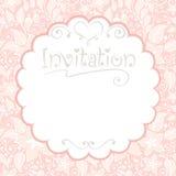 blom- inbjudningar för kort vektor illustrationer
