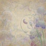 blom- iris för design Fotografering för Bildbyråer