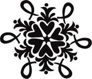 blom- ized scroll Royaltyfria Foton