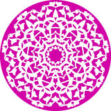 blom- kaleidoscopic modell Arkivfoton