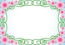 blom- kant Arkivbild