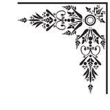 blom- kant vektor illustrationer