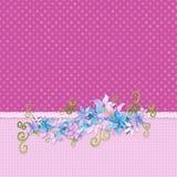 Blom- kant Arkivbilder