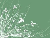 blom- kaos royaltyfri illustrationer