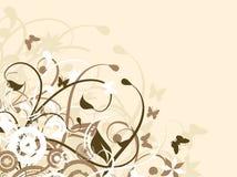 blom- kaos vektor illustrationer