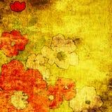 blom- konstbakgrund Royaltyfri Bild