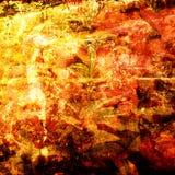 blom- konstbakgrund Royaltyfria Bilder