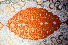 Blom- konstmodellexempel av ottomantid Arkivbild