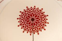 Blom- konstmodellexempel av ottomantid Royaltyfria Bilder