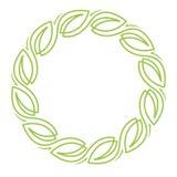 Blom- krans royaltyfri foto