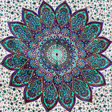 blom- lacy modellwhite för abstrakt tyg Royaltyfri Bild