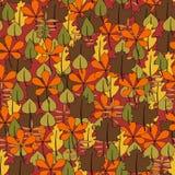 blom- leafs mönsan seamless Arkivbild