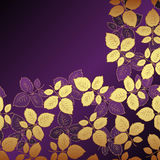 blom- lila för bakgrund vektor illustrationer