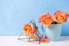 blom- livstid fortfarande Royaltyfri Fotografi