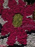 Blom- lodlinjeträdgårdvägg Royaltyfri Bild