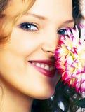 blom- lycka royaltyfri fotografi