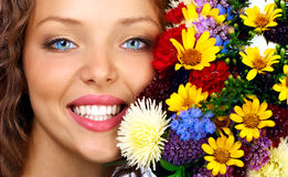blom- lycka royaltyfri foto