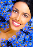 blom- lycka Fotografering för Bildbyråer