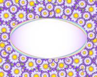 blom- mall för kort Arkivfoto
