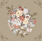 blom- modell Royaltyfri Foto