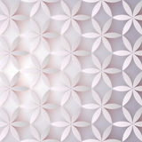 Blom- modell 3d Abstrakt begrepp blommar med skuggor Elegant textur, vektorbakgrund Färgrik moderiktig design för tryck Arkivbilder